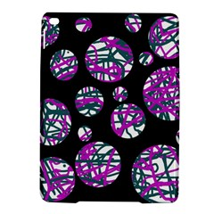 Purple decorative design iPad Air 2 Hardshell Cases