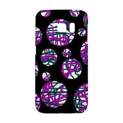 Purple decorative design Galaxy S6 Edge