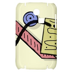 Decorative abstraction Samsung S3350 Hardshell Case