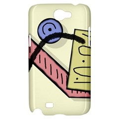 Decorative abstraction Samsung Galaxy Note 2 Hardshell Case