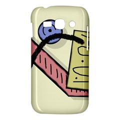 Decorative abstraction Samsung Galaxy Ace 3 S7272 Hardshell Case