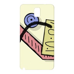 Decorative abstraction Samsung Galaxy Note 3 N9005 Hardshell Back Case