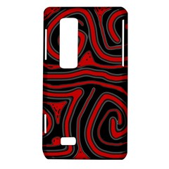Red and black abstraction LG Optimus Thrill 4G P925