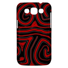 Red and black abstraction Samsung Galaxy Win I8550 Hardshell Case