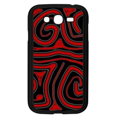Red and black abstraction Samsung Galaxy Grand DUOS I9082 Case (Black)