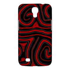Red and black abstraction Samsung Galaxy Mega 6.3  I9200 Hardshell Case