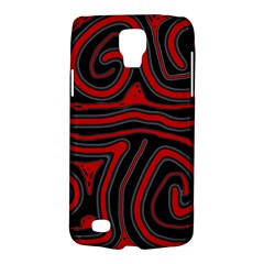 Red and black abstraction Galaxy S4 Active