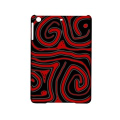 Red and black abstraction iPad Mini 2 Hardshell Cases