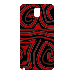 Red and black abstraction Samsung Galaxy Note 3 N9005 Hardshell Back Case