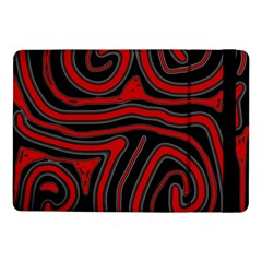 Red and black abstraction Samsung Galaxy Tab Pro 10.1  Flip Case