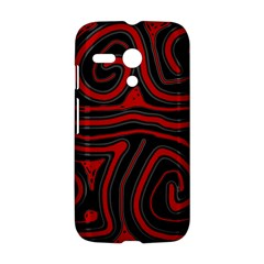 Red and black abstraction Motorola Moto G