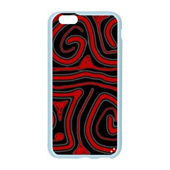 Red and black abstraction Apple Seamless iPhone 6/6S Case (Color)