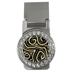 Brown elegant abstraction Money Clips (CZ)