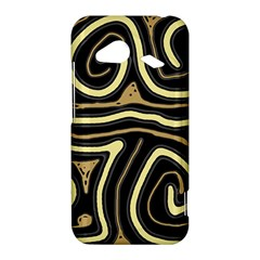 Brown elegant abstraction HTC Droid Incredible 4G LTE Hardshell Case
