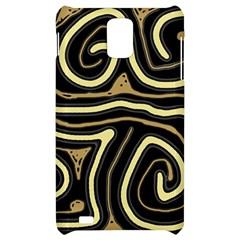 Brown elegant abstraction Samsung Infuse 4G Hardshell Case