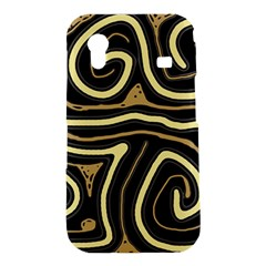 Brown elegant abstraction Samsung Galaxy Ace S5830 Hardshell Case