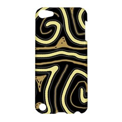 Brown elegant abstraction Apple iPod Touch 5 Hardshell Case