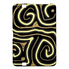 Brown elegant abstraction Kindle Fire HD 8.9