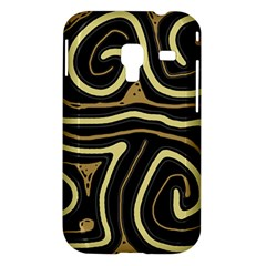 Brown elegant abstraction Samsung Galaxy Ace Plus S7500 Hardshell Case