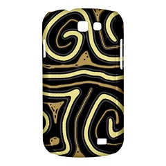 Brown elegant abstraction Samsung Galaxy Express I8730 Hardshell Case