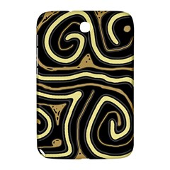 Brown elegant abstraction Samsung Galaxy Note 8.0 N5100 Hardshell Case