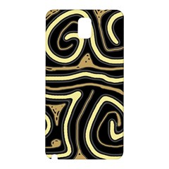 Brown elegant abstraction Samsung Galaxy Note 3 N9005 Hardshell Back Case