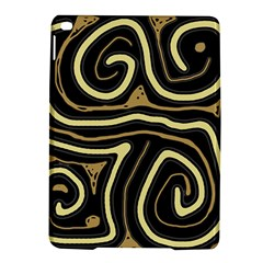 Brown elegant abstraction iPad Air 2 Hardshell Cases