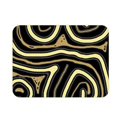 Brown elegant abstraction Double Sided Flano Blanket (Mini)