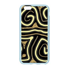 Brown elegant abstraction Apple Seamless iPhone 6/6S Case (Color)