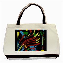 Colorful decorative abstrat design Basic Tote Bag (Two Sides)