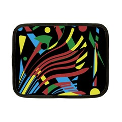 Colorful decorative abstrat design Netbook Case (Small)
