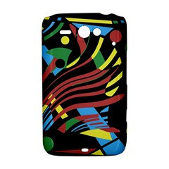 Colorful decorative abstrat design HTC ChaCha / HTC Status Hardshell Case