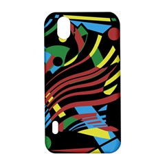 Colorful decorative abstrat design LG Optimus P970