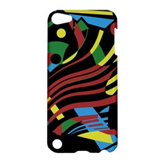 Colorful decorative abstrat design Apple iPod Touch 5 Hardshell Case