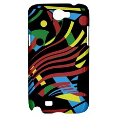 Colorful decorative abstrat design Samsung Galaxy Note 2 Hardshell Case