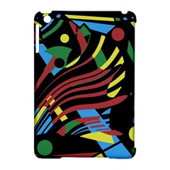 Colorful decorative abstrat design Apple iPad Mini Hardshell Case (Compatible with Smart Cover)