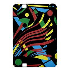 Colorful decorative abstrat design Kindle Fire HD 8.9