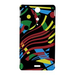 Colorful decorative abstrat design Sony Xperia TX