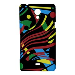 Colorful decorative abstrat design Sony Xperia T