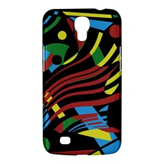 Colorful decorative abstrat design Samsung Galaxy Mega 6.3  I9200 Hardshell Case