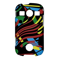Colorful decorative abstrat design Samsung Galaxy S7710 Xcover 2 Hardshell Case