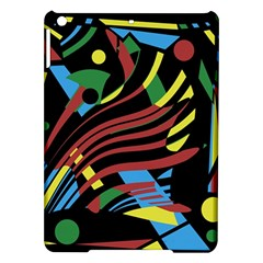 Colorful decorative abstrat design iPad Air Hardshell Cases