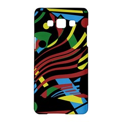 Colorful decorative abstrat design Samsung Galaxy A5 Hardshell Case