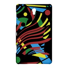 Colorful decorative abstrat design Samsung Galaxy Tab S (8.4 ) Hardshell Case