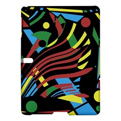 Colorful decorative abstrat design Samsung Galaxy Tab S (10.5 ) Hardshell Case