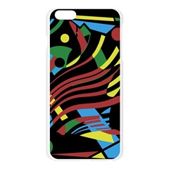Colorful decorative abstrat design Apple Seamless iPhone 6 Plus/6S Plus Case (Transparent)
