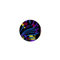 Decorative abstract design 1  Mini Buttons