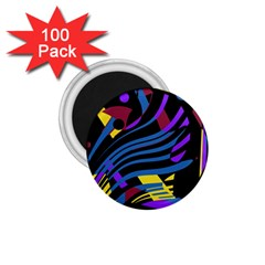 Decorative abstract design 1.75  Magnets (100 pack)