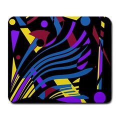 Decorative abstract design Large Mousepads