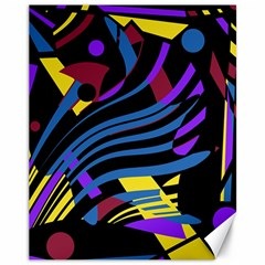 Decorative abstract design Canvas 11  x 14